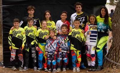 El Club Los Pinos de BMX consigue ocho podios en Zaragoza