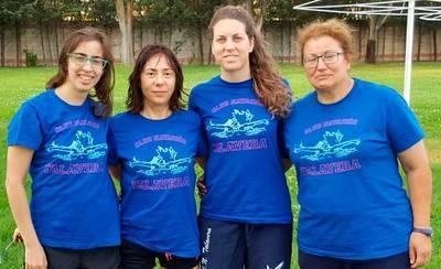 Los máster del CN Talavera logran nueve metales en el regional
