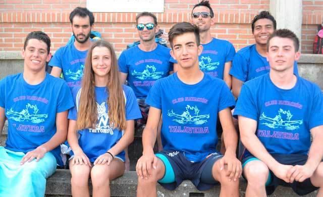 Lluvia de medallas para el Club Natación Talavera en el Provincial Absoluto