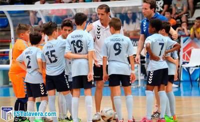 El FS Talavera Alevín peleará por llegar al Campeonato de España