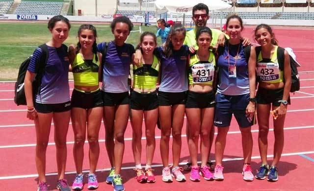 Buena actuación de las infantiles de UDAT en el Campeonato de España