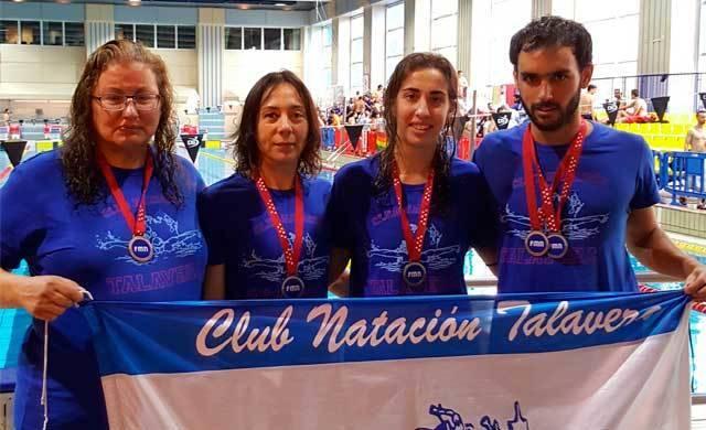 Cinco medallas en el Regional Open de Madrid para el CN Talavera