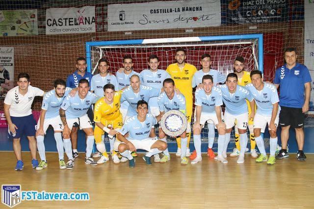 El Soliss FS Talavera reconquista el Trofeo 'Virgen del Prado'