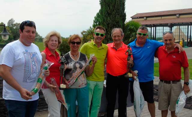 Palomarejos Golf acogió el torneo del 25º aniversario de Cárnicas Otero