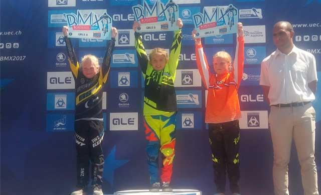 La talaverana Zaira Vargas se proclama Campeona de Europa de BMX