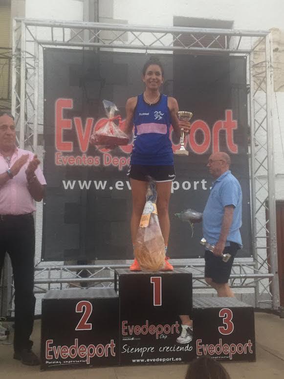 Rocío Fernández se alza con la victoria en Navamorcuende