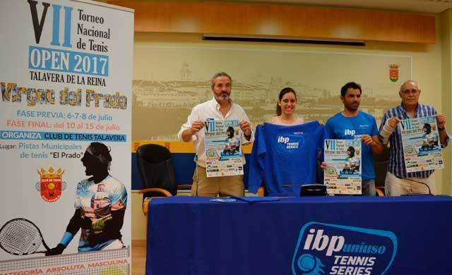El torneo de tenis Virgen del Prado se integra en el circuito profesional IBPuniuso