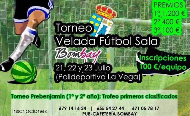 """El """"Torneo Velada Fútbol Sala"""" se celebrará la próxima semana"""