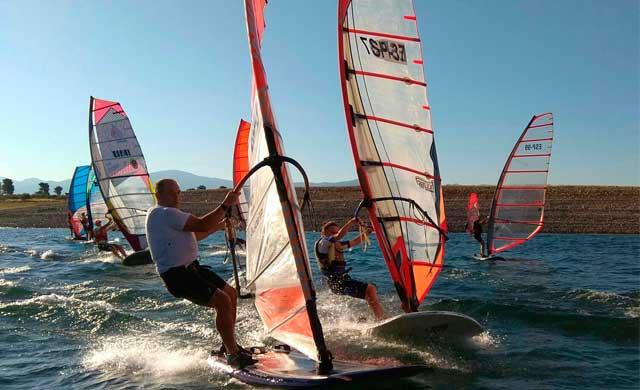 El talaverano Alfonso Tertre participó en el Campeonato Ibérico de Windsurf