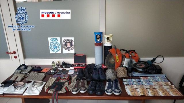 Detenidos dos miembros de una red que habría cometido robos por valor de un millón de euros, alguno en C-LM