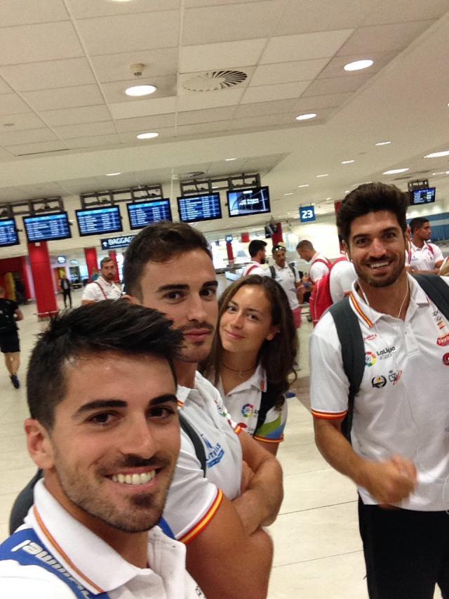 Paco Cubelos ya está en Praga para disputar el Campeonato del Mundo