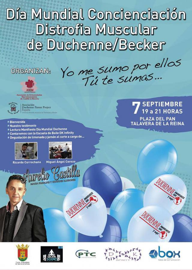 ASEM CLM conmemora en Talavera el 'Día Mundial Concienciación Distrofia Muscular de Duchenne'