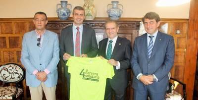 La Diputación de Toledo inscribe a los 27 diputados en la IV Carrera Solidaria de la Fundación Caja Rural CLM