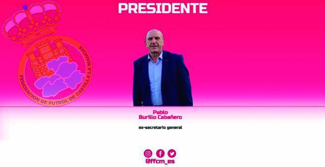 FÚTBOL | Burillo y su junta directiva para la Federación de CLM
