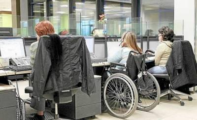 59 personas con discapacidad harán prácticas laborales desde el 1 de septiembre en centros de la Junta