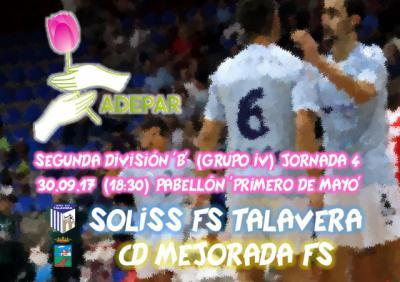 La iniciativa 'El Jugador Número Seis' del FS Talavera abre el telón con la visita de ADEPAR-CLM