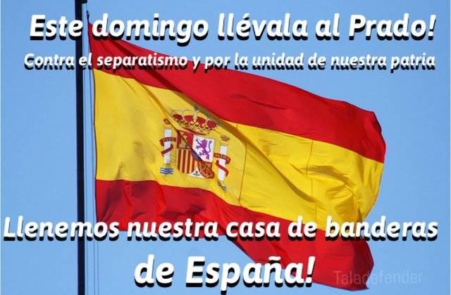Desde las redes sociales hacen un llamamiento a los aficionados para que porten la bandera de España al encuentro del CF Talavera
