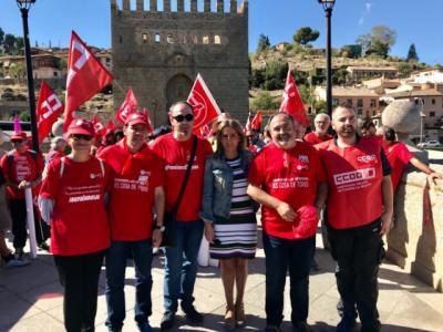 Alcaldesa Toledo dice que la ciudad ofrece suelo industrial a cualquier empresa de España