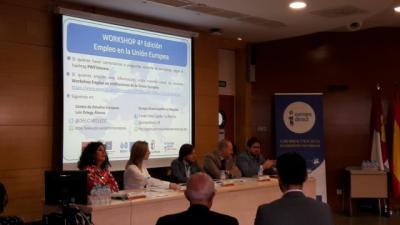 Más de 30 alumnos de la UCLM en Talavera interesados en encontrar trabajo en instituciones europeas