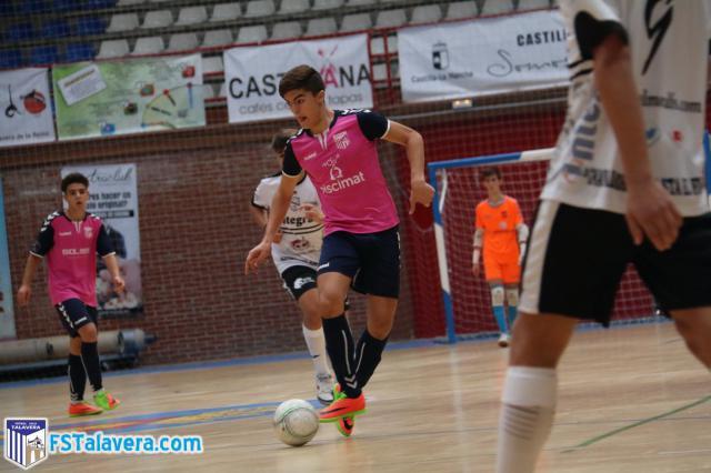 La cantera del Soliss FS Talavera se estrena en las competiciones regionales