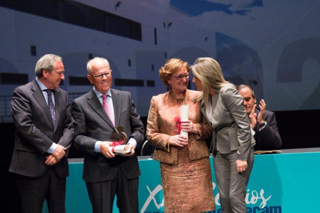 Los fundadores de Casty recogen el premio CECAM por su trayectoria profesional