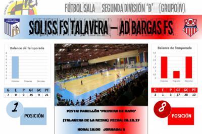 El FS Talavera recibe a la AD Bargas en el primer derbi provincial de la temporada