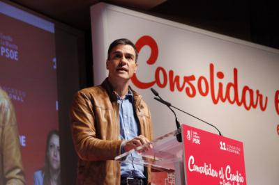 Pedro Sánchez dice que el 21-D ganarán