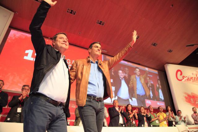 """Sánchez: """"Este congreso va a consolidar el cambio político que García-Page ha imprimido a CLM"""""""