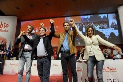 Sánchez da su apoyo a Page para ganar las Elecciones en 2019