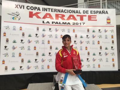 La karate talaverana Sandra Sánchez
