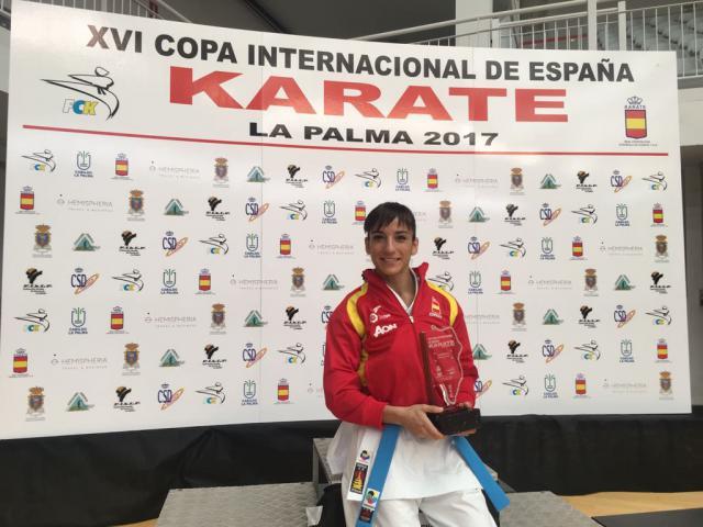 La talaverana Sandra Sánchez vuelve a ser de 'oro' al ganar la Copa Internacional de Kárate de España