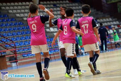 La cantera del Soliss FS Talavera vuelve a firmar otro pleno en Liga Regional