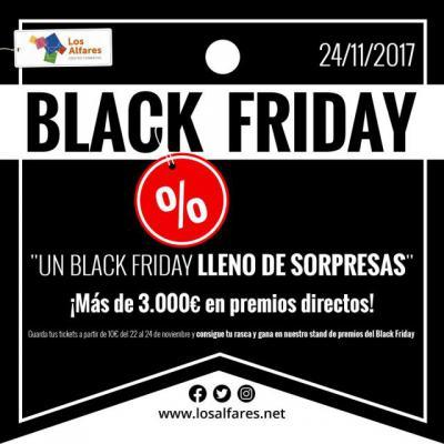 Los Alfares celebra el Black Friday con los mejores descuentos y 3.000 euros en premios
