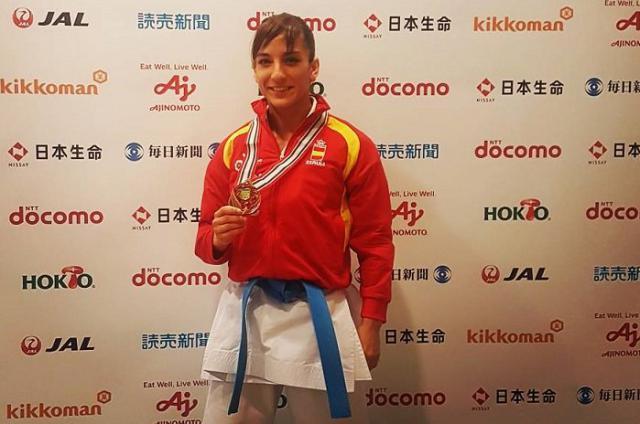 La talaverana Sandra Sánchez amplía su leyenda: se cuelga el bronce en Okinawa