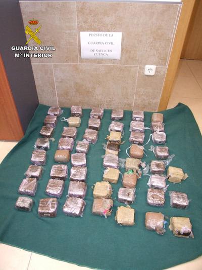 La Guardia Civil detiene a dos personas por tráfico de drogas