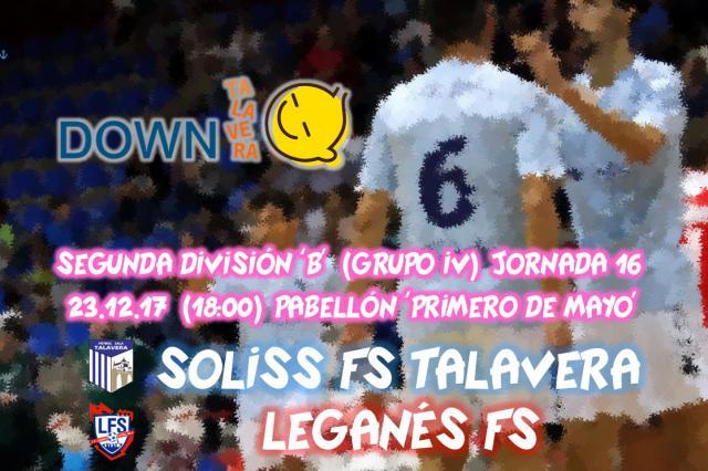 La iniciativa 'El Jugador Número Seis' cierra 2017 con la visita de Down Talavera