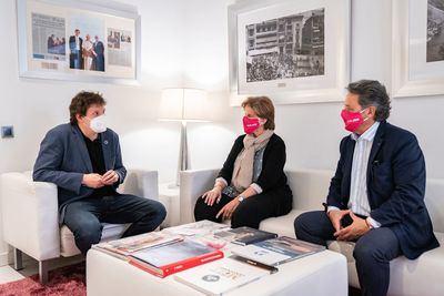 FUNDACIÓN SOLISS | Los nuevos directivos y grupo CECAP renuevan su alianza