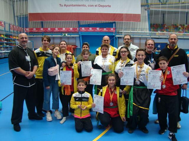 Shaolin Center Talavera consigue ocho medallas en el IV Campeonato Internacional de Artes Marciales Chinas