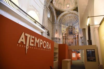 La macroexposición 'aTempora Talavera' recibió a su visitante más longevo, con 105 años