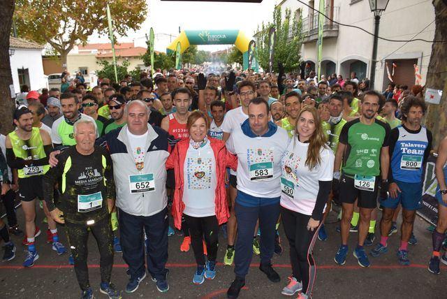 Celebrada la XIV carrera solidaria y caminata 'Villa de Saucedo' de Talavera La Nueva