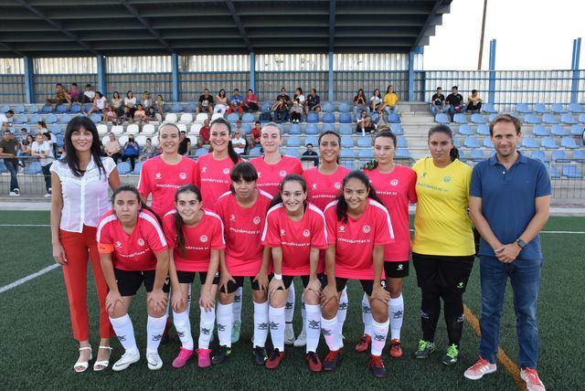 Apoyo del Gobierno municipal al fútbol femenino talaverano