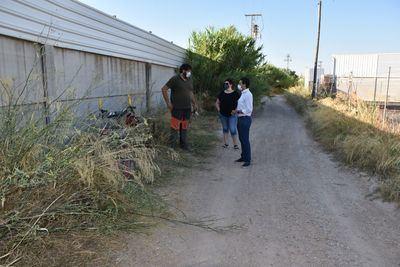 TALAVERA | Comienza el desbroce del camino de San Bartolomé