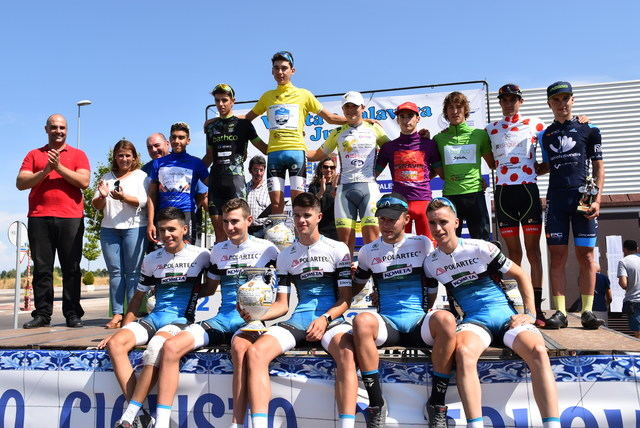 La tradicional Vuelta a Talavera finaliza en esta calurosa tercera etapa