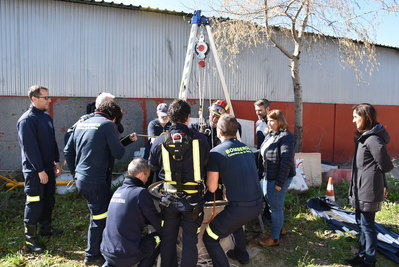 Talavera continuará reforzando el Servicio de Extinción de Incendios