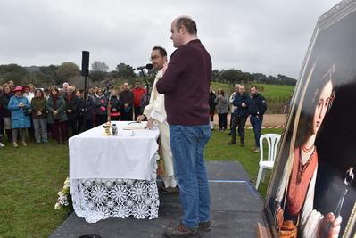 Gran participación en la edición de la Romería de Santa Apolonia celebrada este domingo en el entorno de la Ermita