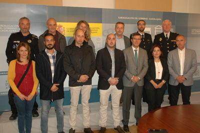 La Subdelegación acoge un encuentro sobre violencia de género con responsables de las Fuerzas de Seguridad
