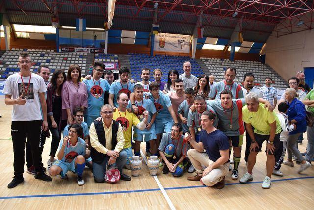 Celebrado el Primer Torneo de Fútbol Sala 'Ciudad de la Cerámica' para personas con diversidad funcional