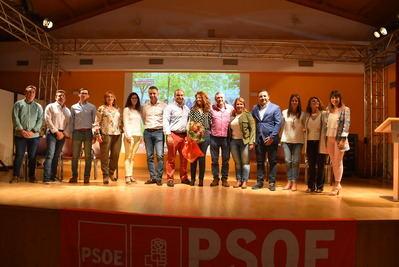 """Tita García Élez destaca """"la cercanía, el respeto y la honradez"""" del grupo socialista de Mejorada"""