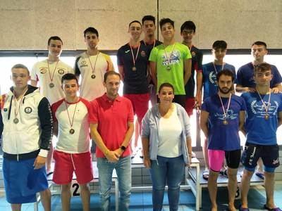 Club Natación Talavera logra 10 medallas de oro en el Campeonato Provincial de verano absoluto