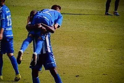Un CF Talavera 'brillante' logra la cuarta victoria consecutiva en 'El Prado'